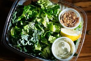 Takeout caesar salad
